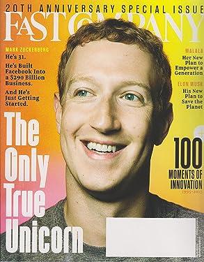 Fast Company December 2015/January 2015 Mark Zuckerberg The Only True Unicorn