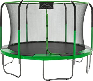 Skytric Round Trampoline Set with Premium Top-Ring Enclosure System