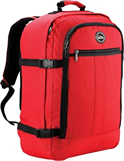 Cabin Max Carry On Travel Backpack Flight Approved 44L 56x36x23cm (Red)