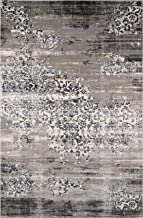 "Momeni Rugs Juliet Collection Area Rug, 2'0"" x 3'0"", Grey"