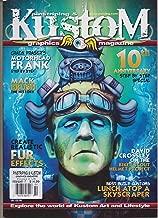 PINSTRIPING & KUSTOM GRAPHICS MAGAZINE #60 FEB 2017, 10th ANNIVERSARY.