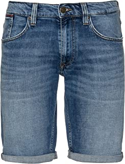 Tommy Jeans Men's Ronnie Short ELKMB, Blue (ELK MID Blue COM 911), 31W X 32L (Manufacture Size : NI31)