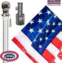 Valley Forge Flag 99060 Nylon American Flag Kit, 2.5'x4' Embroirdered Set
