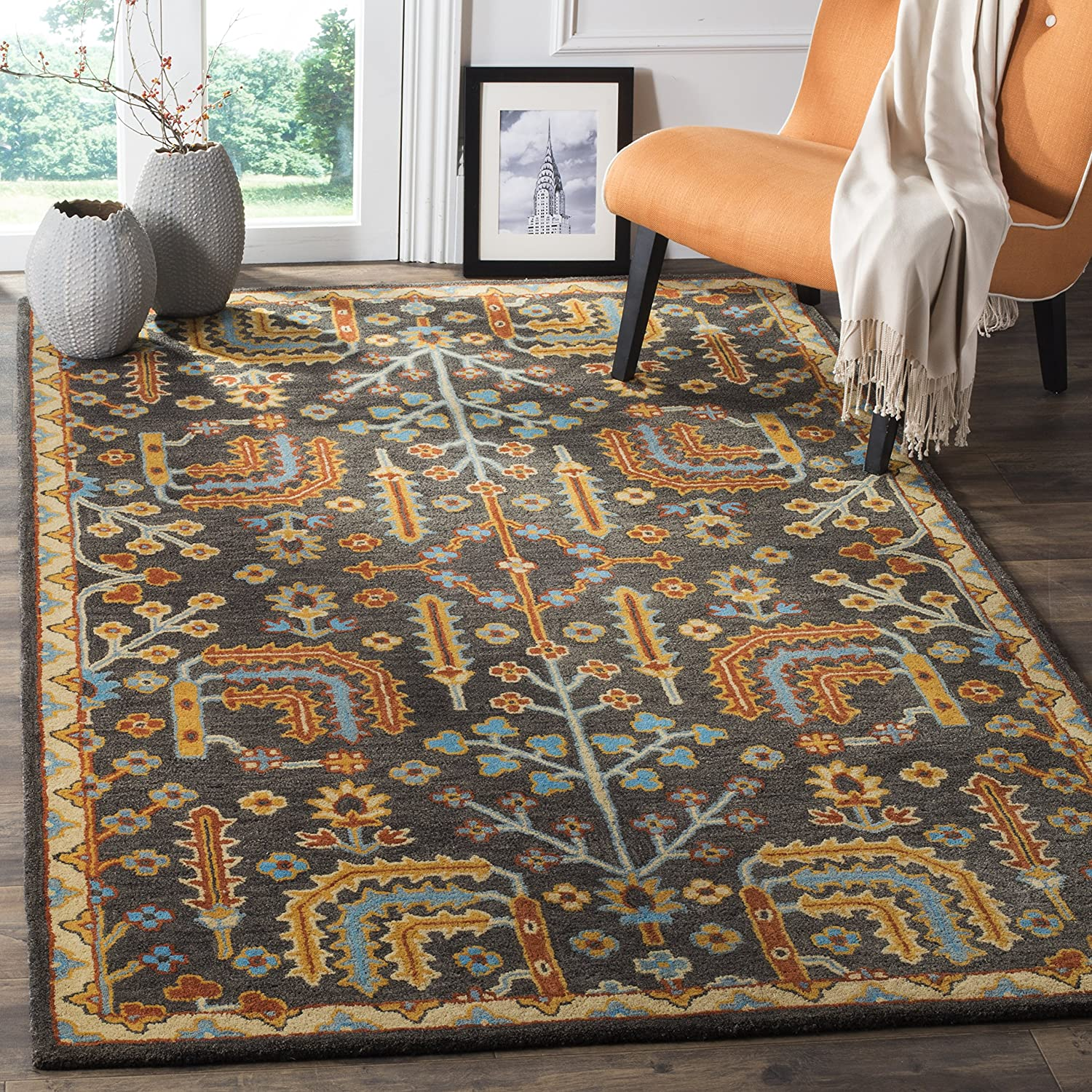 Safavieh Heritage Collection Challenge the lowest Outstanding price HG409A Traditional Orienta Handmade