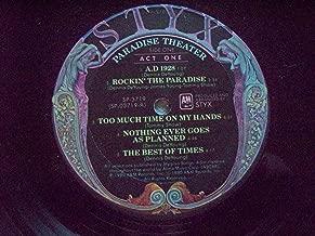 45vinylrecord Paradise Theater LP (12