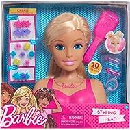 Barbie Small Styling Head- Blonde, Medium, Pink