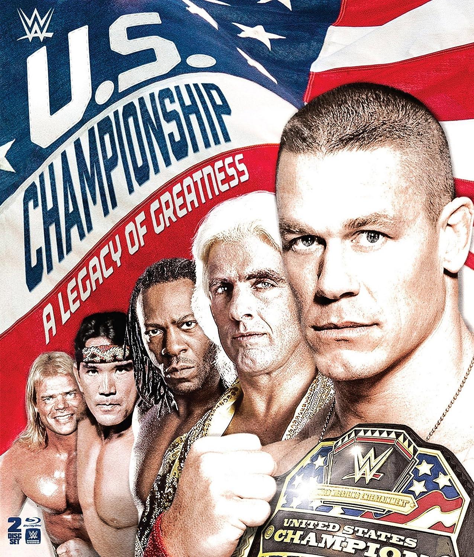 overseas WWE: U.S. Championship Max 48% OFF - A Blu-ray of Legacy Greatness