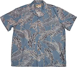 product image for Paradise Found Mens Tree Tops Shirt Blue 6X