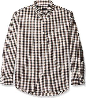 Arrow Men's Hamilton Poplin Long Sleeve Button Down Shirt