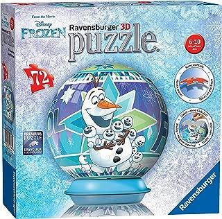 Ravensburger Disney Frozen, 72pc 3D Jigsaw Puzzle
