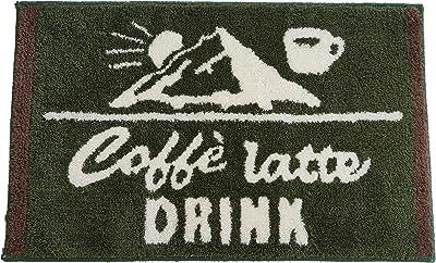 スミノエ 洗える 玄関マット デミタス 50×80cm グリーン 14348276