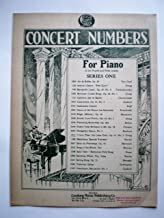 CONCERT NUMBERS FOR PIANO IN THE FOURTH AND FIFTH GRADES I LOVE THEE (ICH LIEBE DICH) OP.41,NO.3