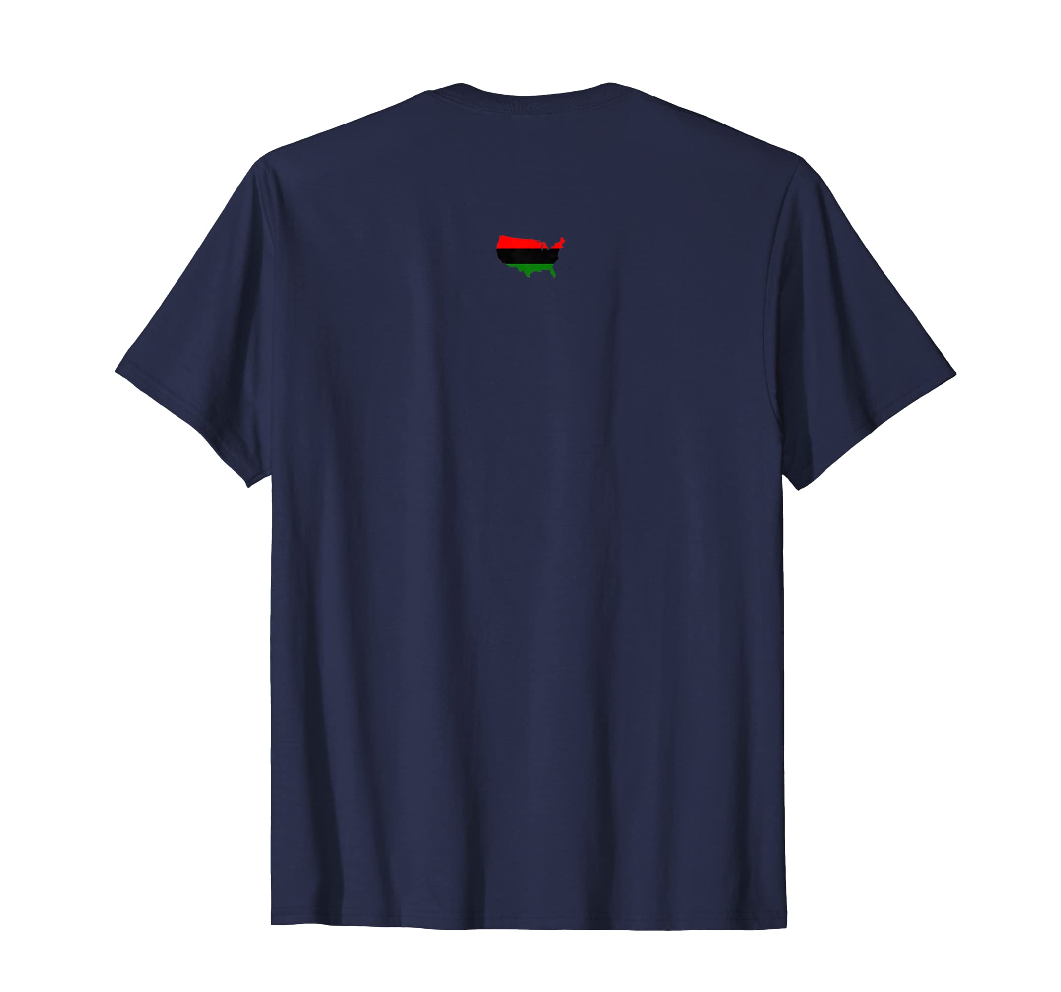 Amazon.com  African American Flag T-Shirt - Harlem  Clothing 9800edfc3fe