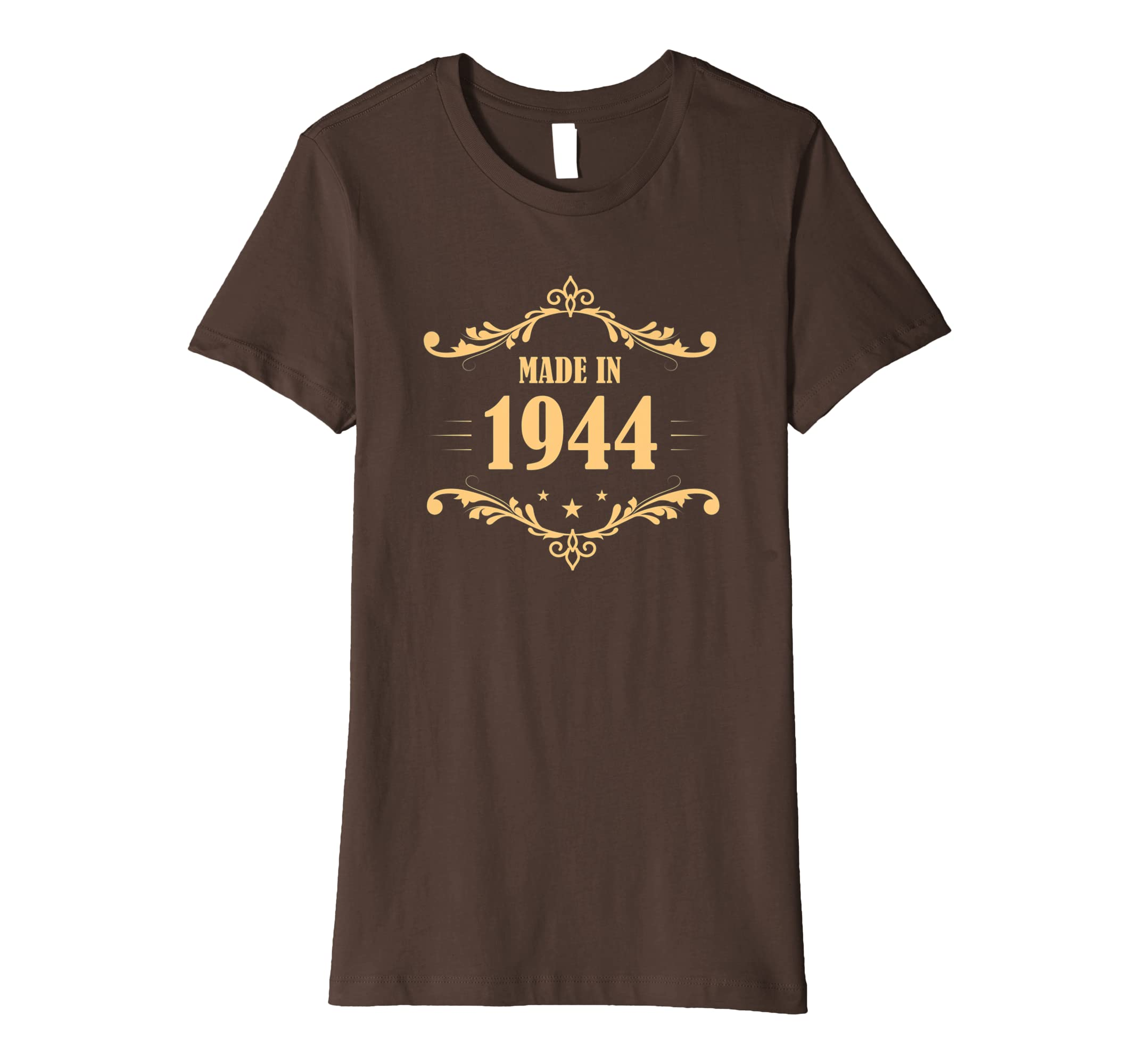 Amazon Made In 1944 Vintage 75th Birthday Shirt Gift P1 Clothing