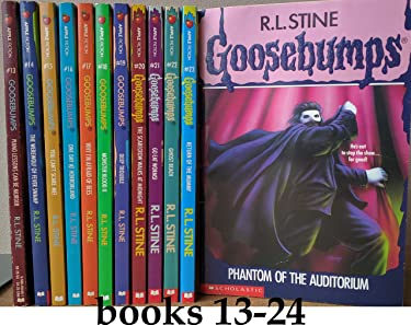 Goosebumps (original series) Set, Books: 13-24