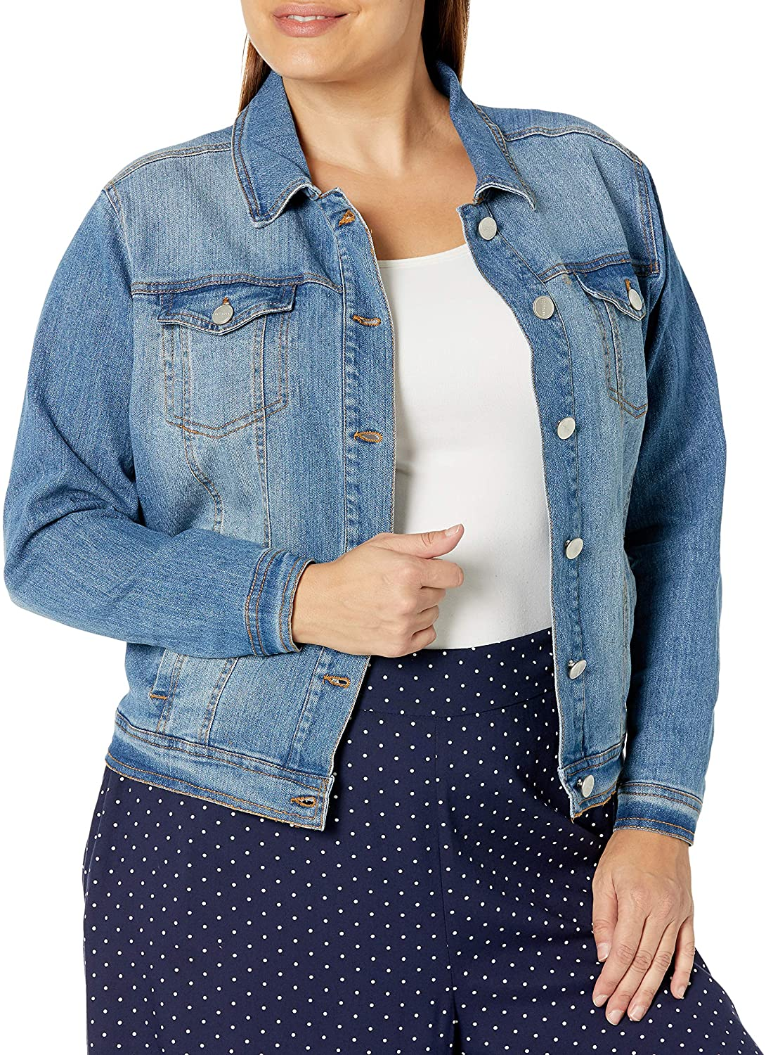 dollhouse Women's Spring Max 46% OFF new work one after another Size Denim Jacket