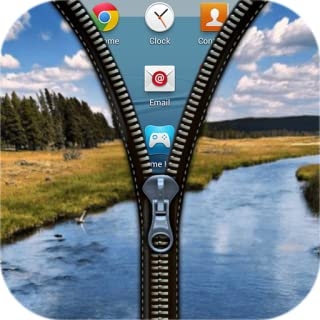 Zipper Lock Screen Cute