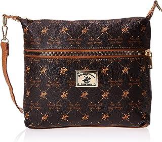 BHPC Womens Crossbody Bag, BROWN - BHVA3390BN