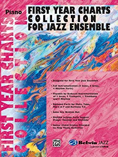 First Year Charts Collection for Jazz Ensemble: Piano