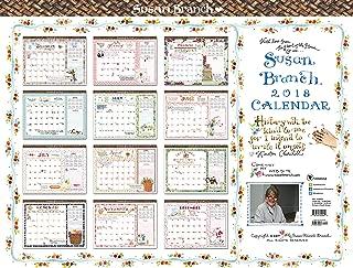 2018 Susan Branch Heart of the Home 22x17 Desk Pad Calendar