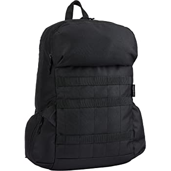 AmazonBasics Canvas Laptop Backpack Bag for up to 15 Inch Laptops - Black