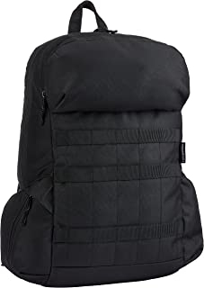 Amazon Basics Canvas Laptop Backpack Bag for up to 15 Inch Laptops - Black
