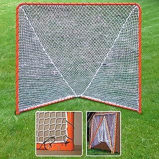 Lacrosse Folding Goal, 6 x 6-Feet, Orange