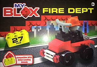 My Blox Fire Dept 27 pcs building set, Lego compatible