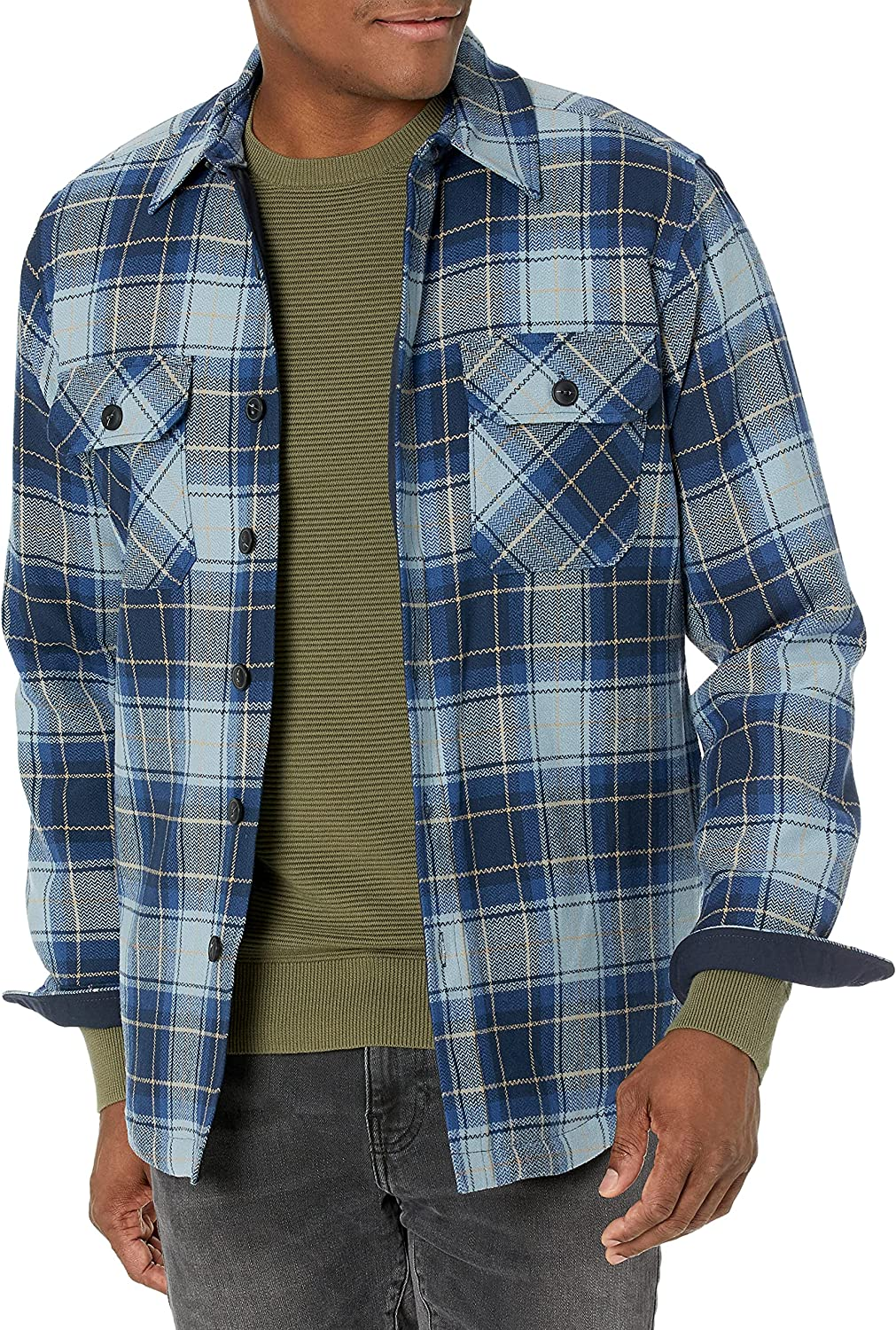 Pendleton Men's Quilted CPO shipfree in Shirt Over item handling Wool Jacket