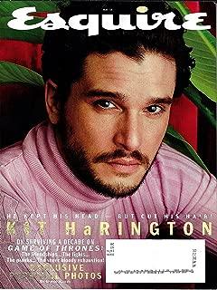 Esquire Magazine (May, 2019) Kit Harrington Jon Snow Game of Thrones Cover
