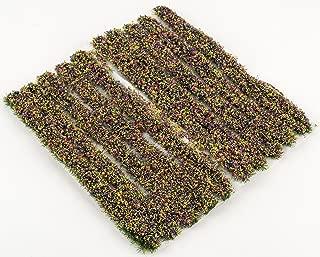 WWS Selección de Tiras de Hierba Estática 4mm - Modelismo Ferroviario, Dioramas, Escenografías (Flores)