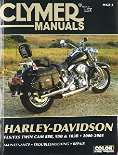 Clymer Repair Manual for Harley Softail Twin Cam 88 00-05