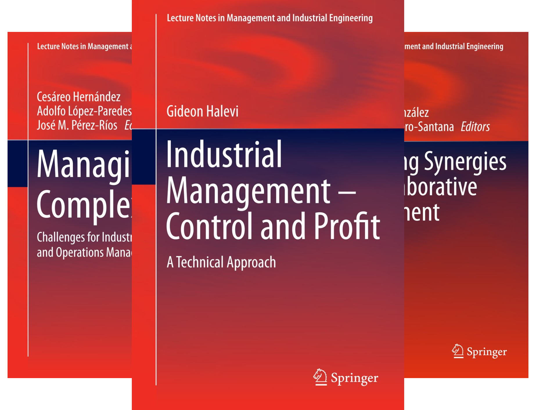 Lecture Notes in Management and Industrial Engineering (24 Book Series)