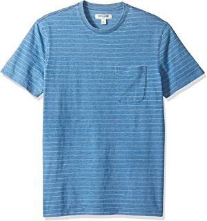 Amazon Brand - Goodthreads Men's Short-Sleeve Indigo Crewneck Pocket T-Shirt