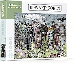 Download Book Edward Gorey - Edward Gorey: 1,000 Piece Puzzle (Pomegranate Artpiece Puzzle) PDF