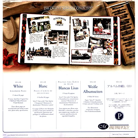 Creative Memories 8x8 Scrapbook Page Protectors Package of 12 NIP