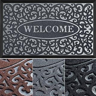 Welcome Mat - Door Mat - Welcome Mats for Front Door - Front Door Rug - Inside Door Mats - Doormat Indoor Entrance - Door ...