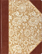 ESV Single Column Journaling Bible (Cloth Over Board, Antique Floral Design)
