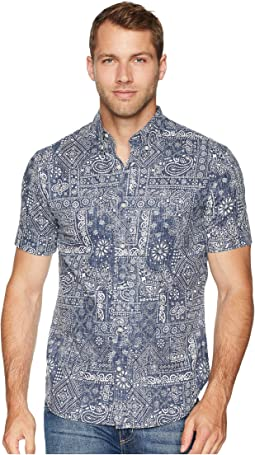 Aloha Bandana Tailored Fit Hawaiian Shirt