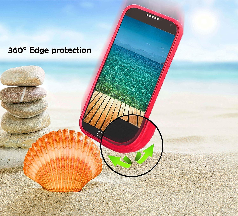 Ultra Slim Fin Gel Case Cover Bumper Housse Protection Souple en Silicone TPU avec Anti-Choc et Anti-Rayures Cadorabo Coque pour Samsung Galaxy Note 5 en Candy Noir