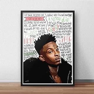21 Savage INSPIRED Poster/Print