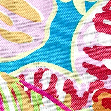 "DII CAMZ38872 Outdoor Table Runner, 14x72"", Summer Floral"