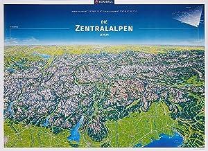KOMPASS Panorama Die Zentralalpen, Le Alpi, Poster: 371 by KOMPASS ...
