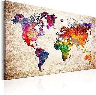 B&D XXL murando Impression sur Toile intissee120x80 cm 1 Piece Tableau Tableaux Decoration Murale Photo Image Artistique P...