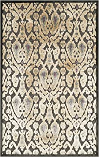 Safavieh Paradise Collection PAR157-330 Charcoal and Multi Viscose Area Rug (3'3