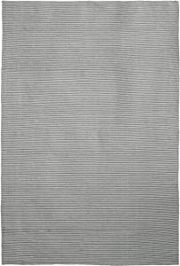 Jute & Co, Malta, Tappeto Tessuto A Mano, Grigio, 120 x 180 cm
