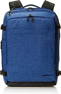 AmazonBasics Mochila para equipaje de mano, profesional, fin de semana, azul