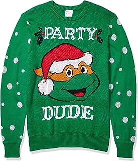 Nickelodeon Men's Ugly Christmas Sweater