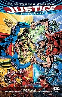 Justice League Vol. 5: Legacy (Rebirth) (Justice League: Rebirth)