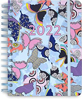 $24 » Vera Bradley 2021-2022 Medium Planner Daily Weekly & Monthly, 17 Month Hardcover Agenda Dated Aug 2021-Dec 2022, Personal ...